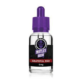 Motley Brew E-Liquids - Grateful Red