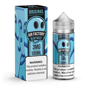 AIR FACTORY | BLUE RAZZ | 100ML