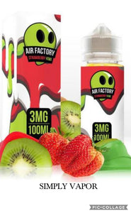 air factory strawberry kiwi ejuice eliquid simply vapor