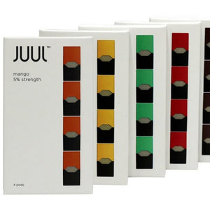 JUUL | ALL FLAVORS | SALT NIC | PODS | 4PK | WEB