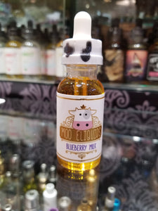 MOO LIQUIDS BLUEBERRY MILK 30ML