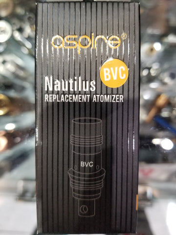 Asipre Nautilus | Replacement coil BVC | 5pack