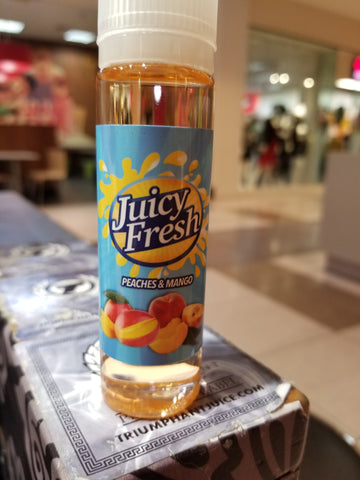 Juicy Fresh Peaches&Mango
