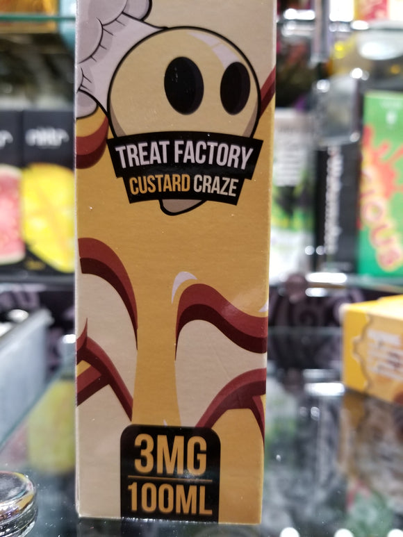 AIR FACTORY | TREAT FACTORY | CUSTARD CRAZE | 100ML |