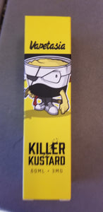 VAPETASIA  | KILLER KUSTARD | STRAWBERRY | 60ML