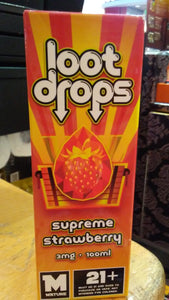DXL COLLECTIVE | LOOT DROPS | SUPREME SRRAWBERRY | 100ML
