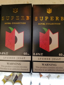 SUPERB | RB | LYCHEE JELLY | 60ML
