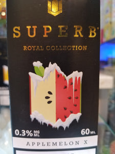 SUPERB | RB | APPLEMELON X | 60ML