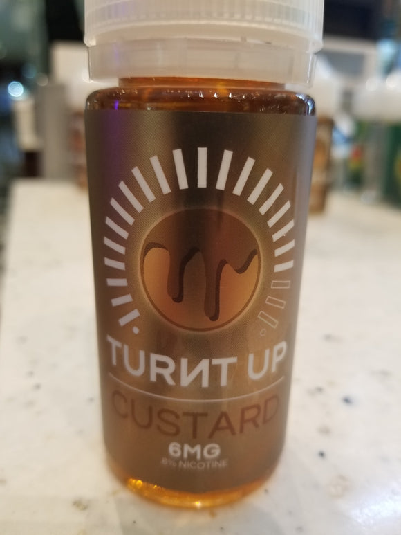 Mr VAPE JUICE | TURNT UP | CUSTARD | 100ML