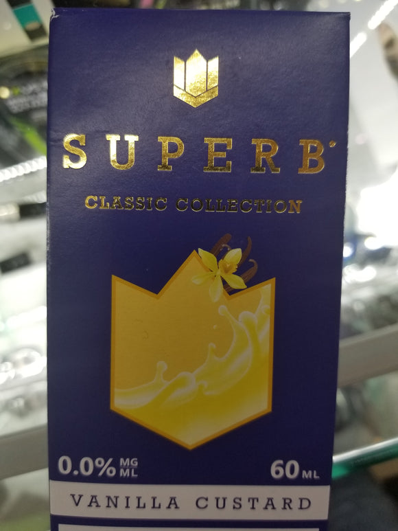 SUPERB | RB | VANILLA CUSTARD | 60ML