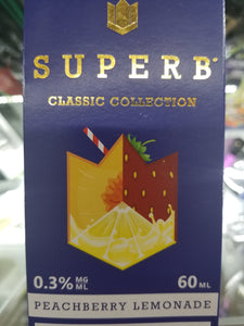 SUPERB | RB | PEACHBERRY LEMONADE | 60ML
