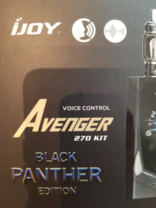 iJOY| AVENGER 270 | BLACK PANTHER | VOICE CONTROL | 234W | BOX MOD | KIT