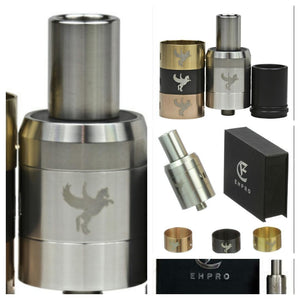 DARK HORSE RDA BY EPHRO 1:1 WITH 3 RINGS AND 2 TIPS - SIMPLY 4 VAPOR