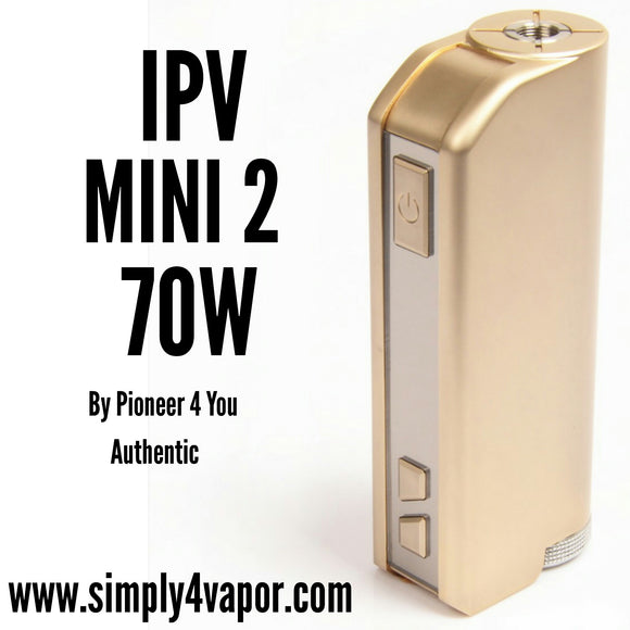 IPV MINI 2 BY PIONEER 4 YOU - SIMPLY 4 VAPOR