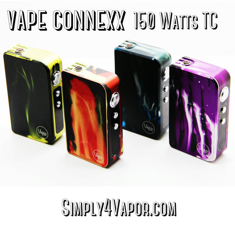 Vape Connexx 150 Watts TC Temperature Control - SIMPLY 4 VAPOR - 1