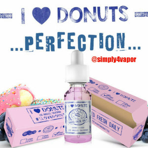 I Love Donuts - Mad Hatter Ejuice - 30ml - Eliquid - SIMPLY 4 VAPOR