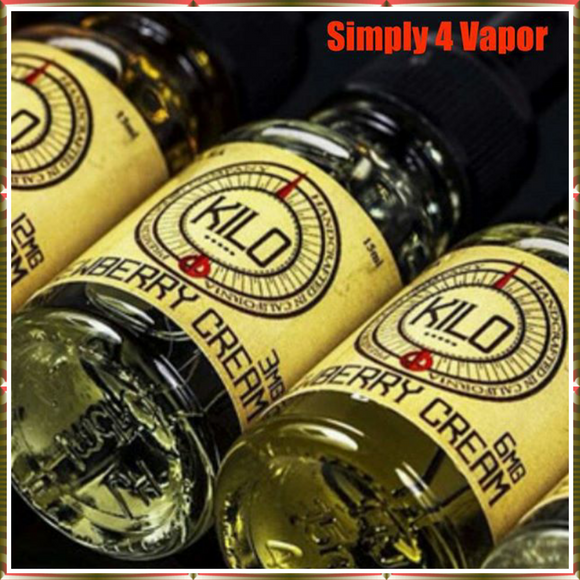 Kilo eliquid - Dewberry Cream eJuice - SIMPLY 4 VAPOR