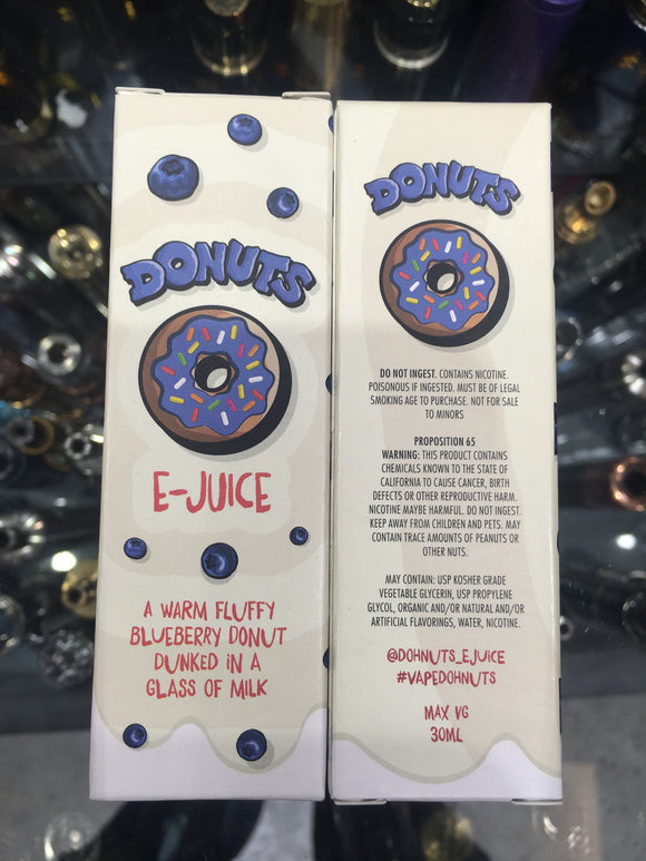 BLUEBERRY DONUTS 30ml eliquid - SIMPLY 4 VAPOR