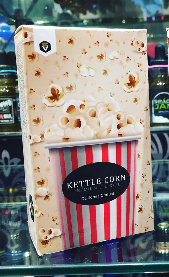 KETTLE CORN by VAPORSTREAM eliquid - SIMPLY 4 VAPOR
