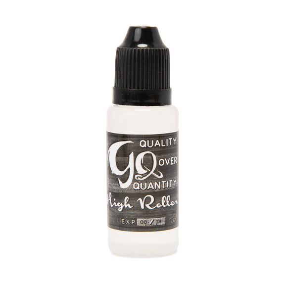 GQ - HIGH ROLLER - (PINEAPPLE, STRAWBERRY, PEACH MIX) - SIMPLY 4 VAPOR