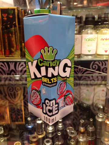 Candy King Belts Strawberry Ice 100ml
