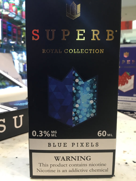 SUPERB | RB | BLUE PIXELS | 60ML