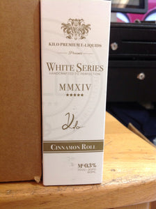 KILO | WHITE SERIES | CINNAMON ROLL | 60ML