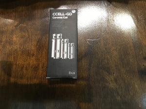 VAPORESSO | CCELL-GD | CERAMIC COIL 5PC 0.6