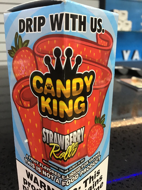 DRIPMORE | CANDY KING | STRAWBERRY ROLLS | 100ML | POS