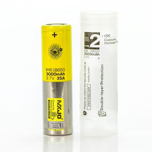 MXJO | YELLOW | BATTERY | 18650 | 21700 | 26650 | 1PC