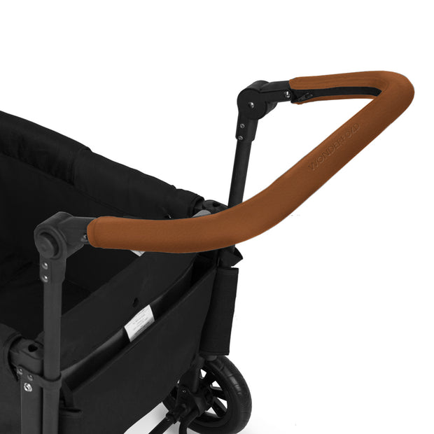 Push-bar Brown Vegan Leather Cover (W Series)