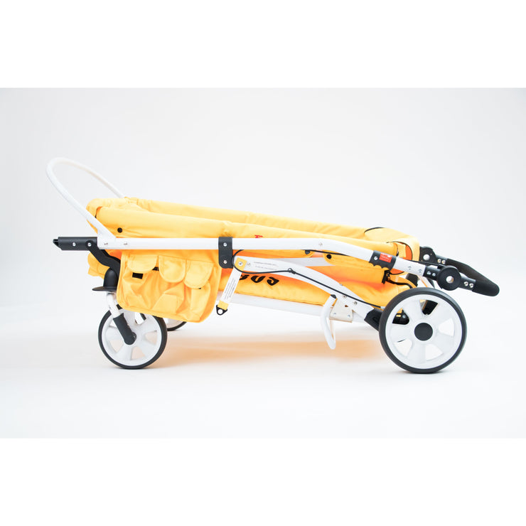 MJ06 Multifunction Quad Stroller Wagon (4 Seater School Bus)