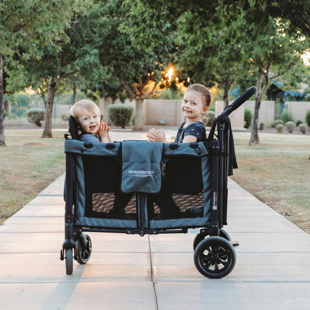 W2 Multifunctional Double Stroller Wagon (2 Seater)