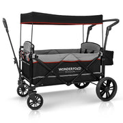 Pull & Push Double Stroller Wagon 2 Seater (X2)