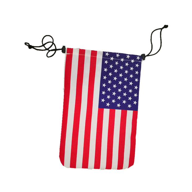 USA Flag Decoration Pouch for W Series