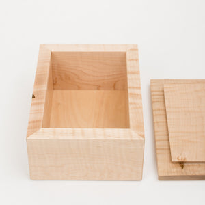 Small Photo Box in Maple