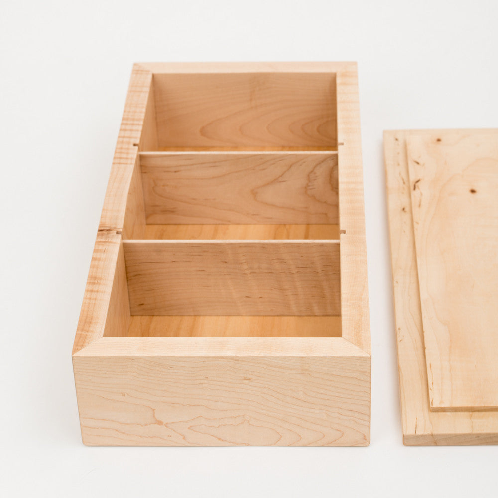 Large Photo Box in Maple