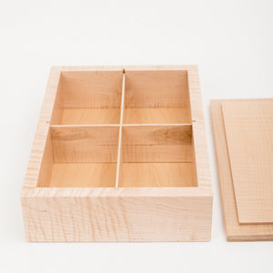 Extra Large Photo Box in Maple