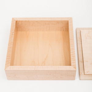 Large Keepsake Box in Maple