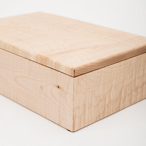Medium USB/Photo Box in Maple