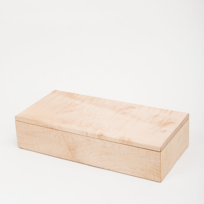 Large USB/Photo Box in Maple