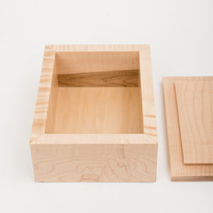 5x7 Box in Maple