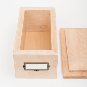 Polaroid Box in Maple
