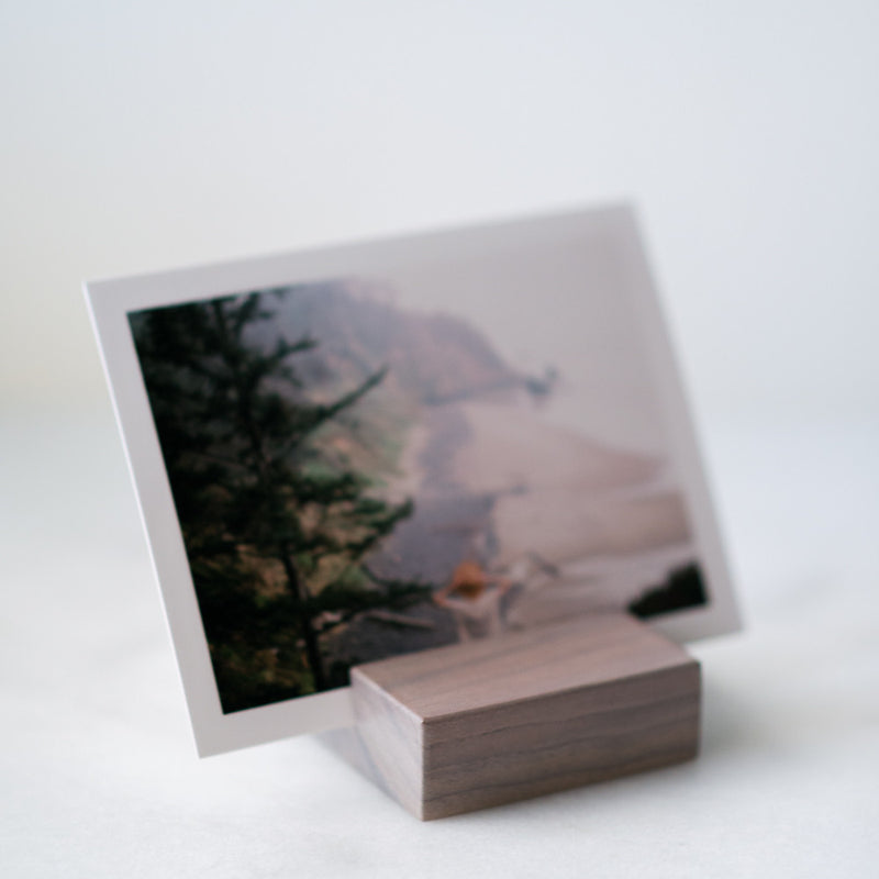 Photo Stand in Slate
