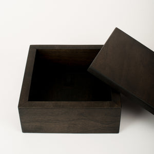 Small Keepsake Box in Sable