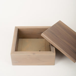 Medium Keepsake Box in Slate