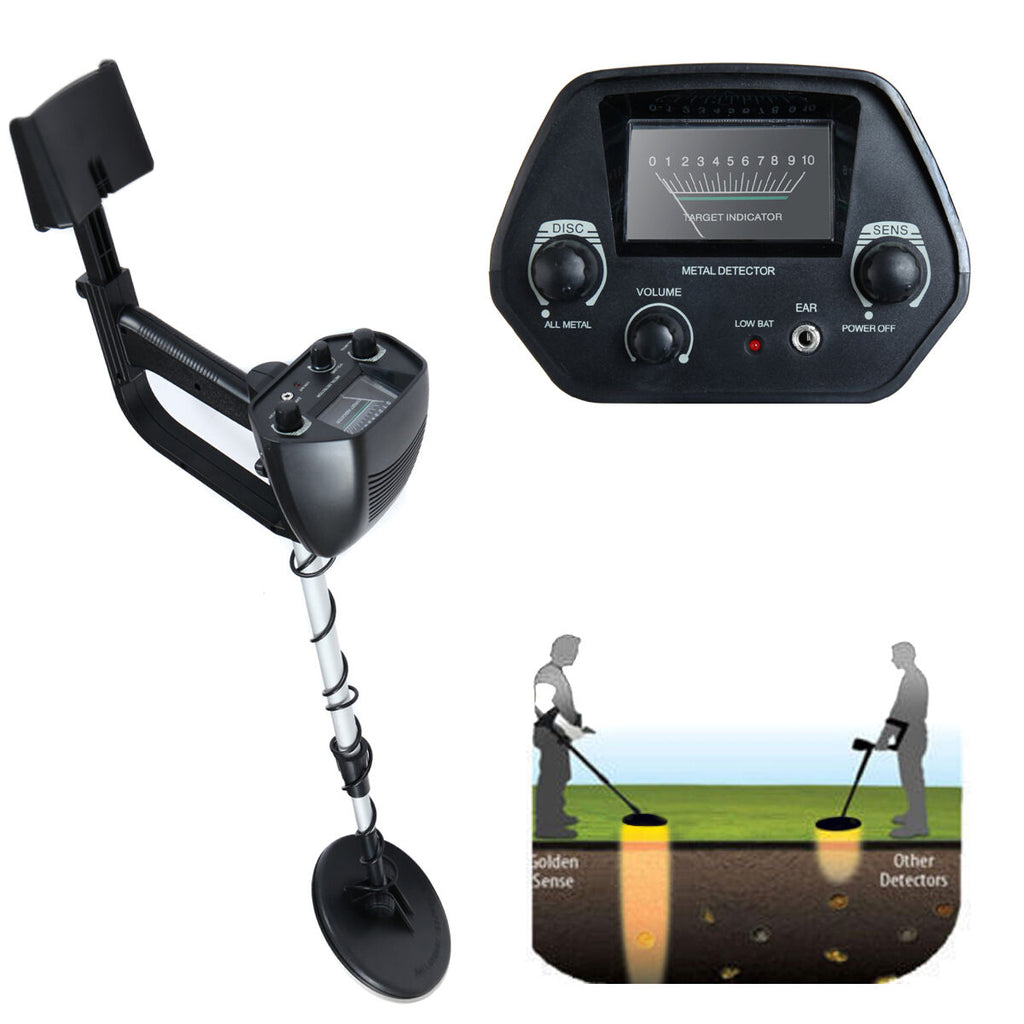 Waterproof Metal Detector Deep Sensitive Search Gold Digger Hunter