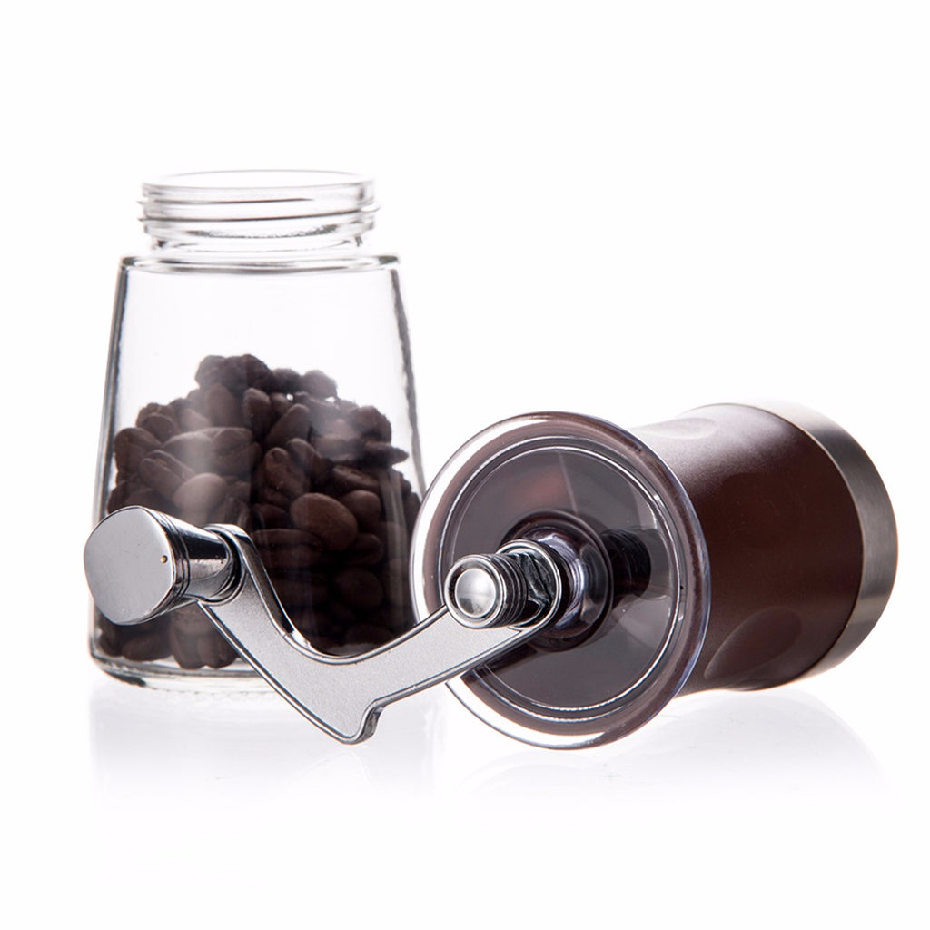 Mini Portable Manual Hand-Crank Coffee Bean Spice Grinder Mill Tool
