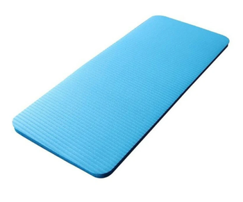 Thick Yoga Mat Anti-slip Exercise Fitness Pilates Pad Exerciser Compact