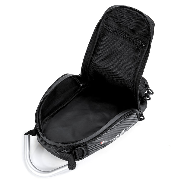 Magnetic Fuel Tank Bag Motorcycle Touch Screen Phone Storage Bag Black